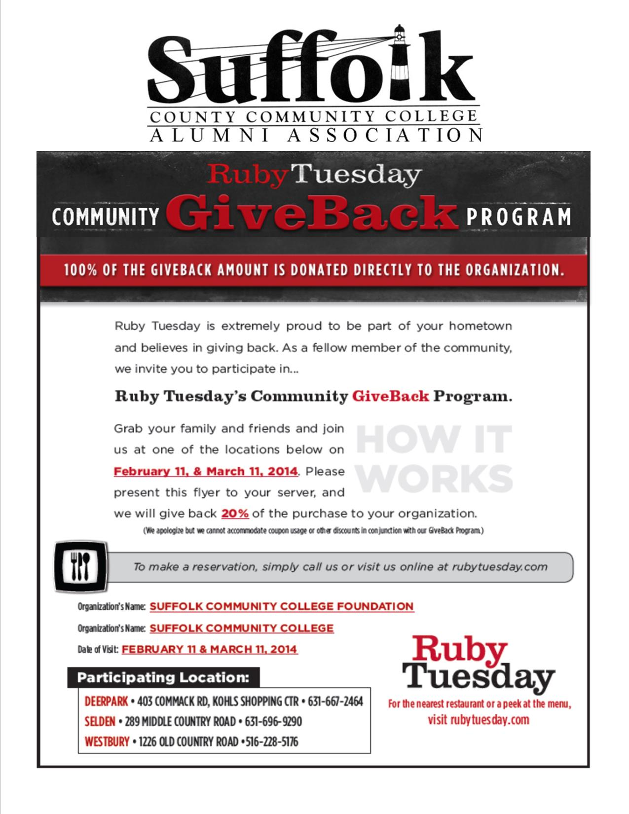 Hunger For Knowledge Support Suffolk County Community
