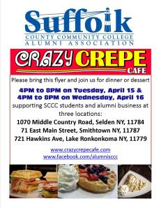 Crazy Crepe SCCC Fundrasier 2014_03_26