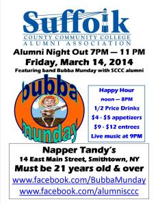 SCCC Alumni Night at Napper Tandys