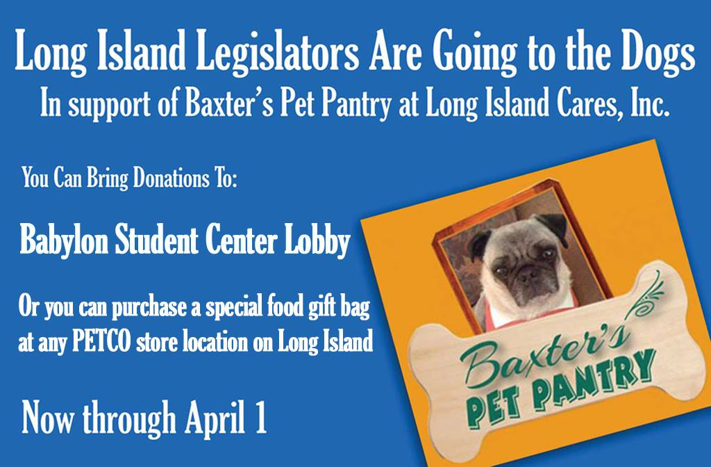 Long Island Cares Pet Food Pantry