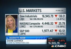 Diane Garnick '94 Image courtesy of CNBC