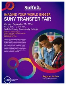 SUNY College Fair at Suffolk County Community College