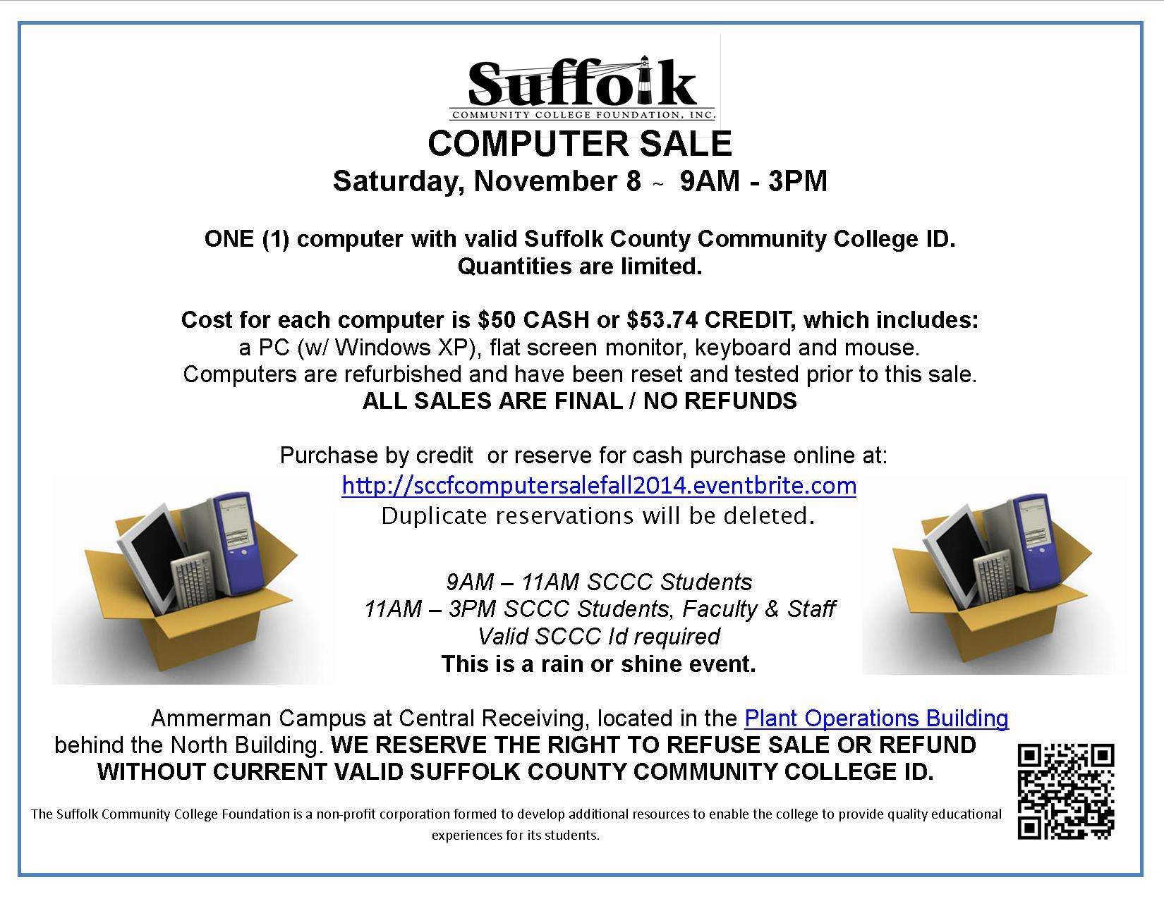 Computer Sale November 2014 Flyer