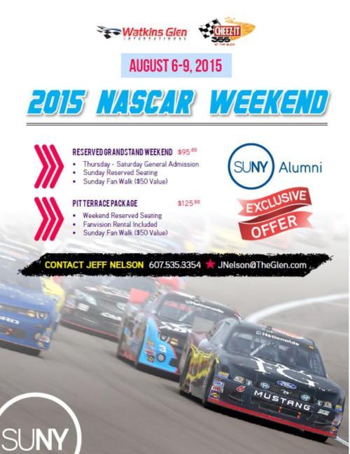 SUNY NASCAR 2015