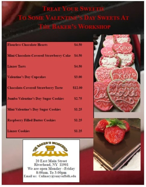 Culinary Valentine 2018