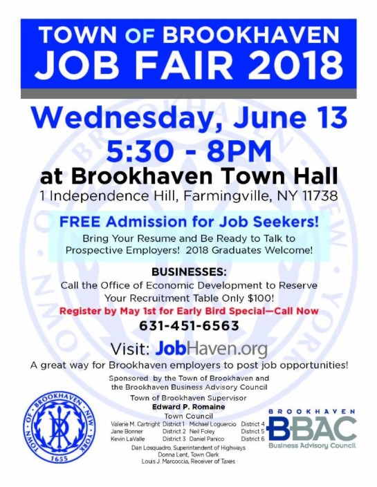 Brookhaven Job Fair 2018-6