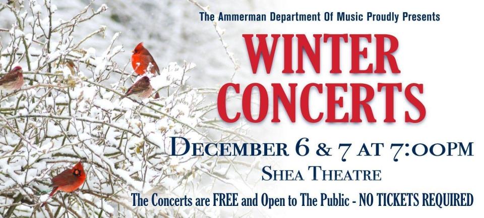 Winter Concerts 2018