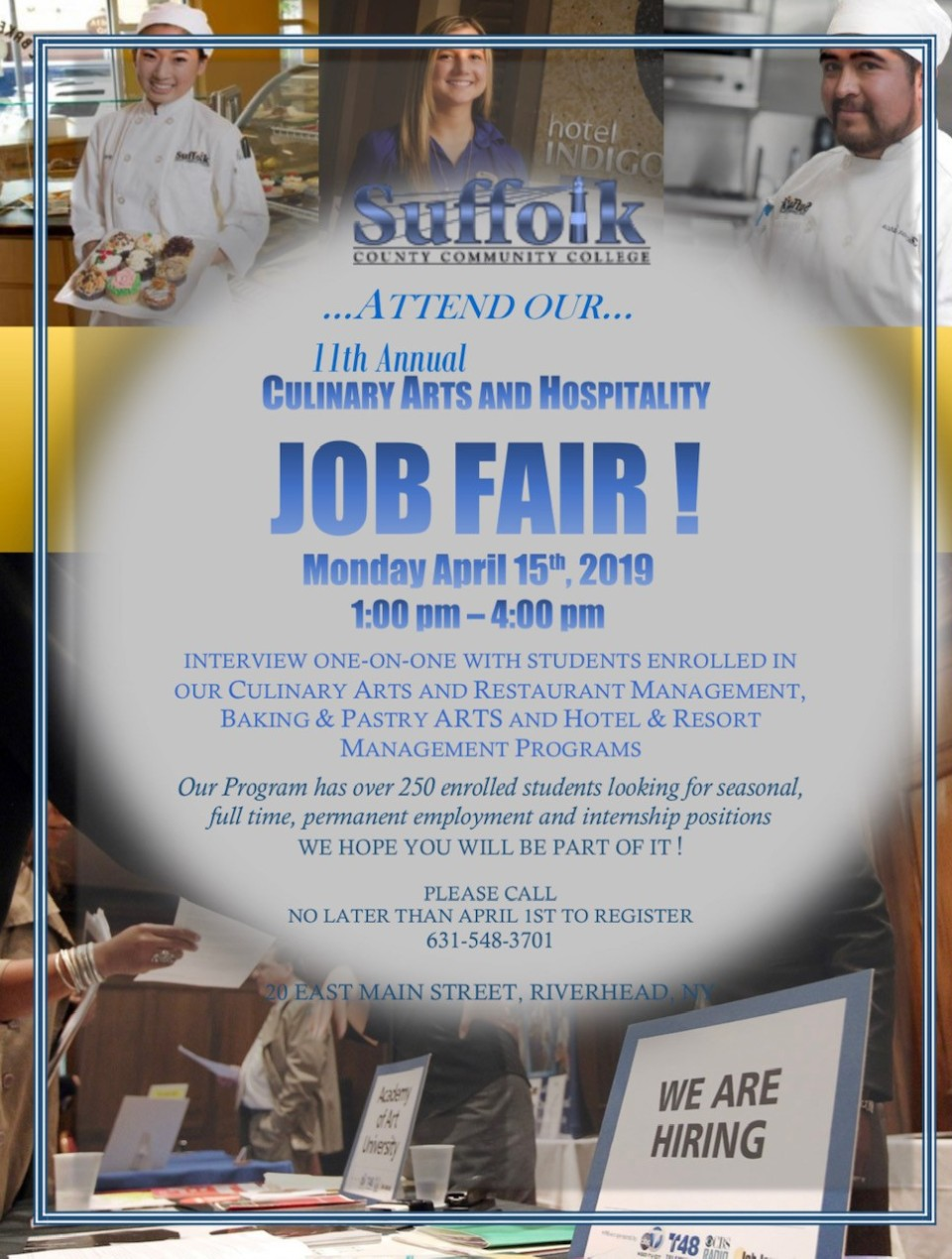 Culinary Job Fair 2019