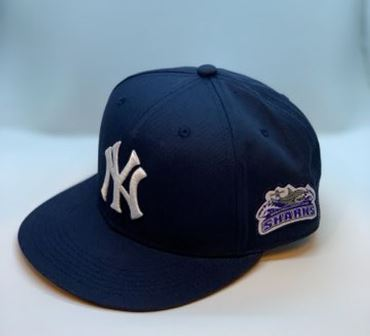 NY Yankees Suffolk County Community College Hat - Web
